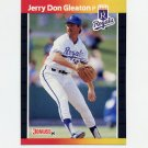 1989 Donruss Baseball #444 Jerry Don Gleaton - Kansas City Royals
