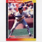 1989 Donruss Baseball #441 Dickie Thon - San Diego Padres