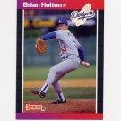 1989 Donruss Baseball #439 Brian Holton - Los Angeles Dodgers