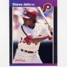 1989 Donruss Baseball #431 Steve Jeltz - Philadelphia Phillies