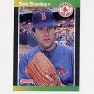 1989 Donruss Baseball #421 Bob Stanley - Boston Red Sox