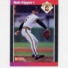 1989 Donruss Baseball #409 Bob Kipper - Pittsburgh Pirates