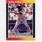 1989 Donruss Baseball #387 Junior Ortiz - Pittsburgh Pirates