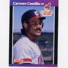 1989 Donruss Baseball #374 Carmen Castillo - Cleveland Indians