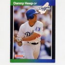 1989 Donruss Baseball #368 Danny Heep - Los Angeles Dodgers