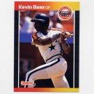 1989 Donruss Baseball #325 Kevin Bass - Houston Astros