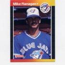 1989 Donruss Baseball #324 Mike Flanagan - Toronto Blue Jays