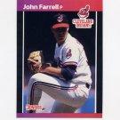 1989 Donruss Baseball #320 John Farrell - Cleveland Indians
