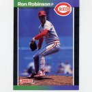 1989 Donruss Baseball #308 Ron Robinson - Cincinnati Reds