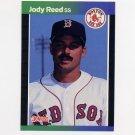 1989 Donruss Baseball #305 Jody Reed - Boston Red Sox