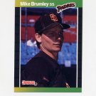 1989 Donruss Baseball #302 Mike Brumley - San Diego Padres