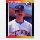 1989 Donruss Baseball #296 Walt Terrell - Detroit Tigers