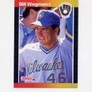1989 Donruss Baseball #293 Bill Wegman - Milwaukee Brewers