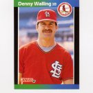 1989 Donruss Baseball #279 Denny Walling - St. Louis Cardinals