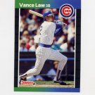 1989 Donruss Baseball #276 Vance Law - Chicago Cubs