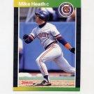 1989 Donruss Baseball #271 Mike Heath - Detroit Tigers