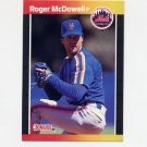 1989 Donruss Baseball #265 Roger McDowell - New York Mets