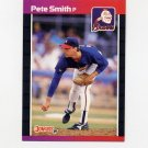 1989 Donruss Baseball #263 Pete Smith - Atlanta Braves