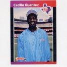 1989 Donruss Baseball #260 Cecilio Guante - Texas Rangers