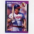 1989 Donruss Baseball #254 Brian Downing - California Angels