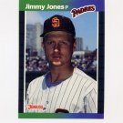 1989 Donruss Baseball #247 Jimmy Jones - San Diego Padres