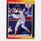 1989 Donruss Baseball #240 Dwight Evans - Boston Red Sox