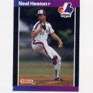 1989 Donruss Baseball #224 Neal Heaton - Montreal Expos
