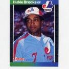 1989 Donruss Baseball #220 Hubie Brooks - Montreal Expos