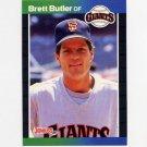 1989 Donruss Baseball #217 Brett Butler - San Francisco Giants