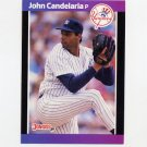 1989 Donruss Baseball #192 John Candelaria - New York Yankees