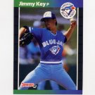 1989 Donruss Baseball #188 Jimmy Key - Toronto Blue Jays