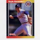 1989 Donruss Baseball #178 Doyle Alexander - Detroit Tigers