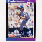 1989 Donruss Baseball #165 Charlie Hough - Texas Rangers