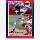 1989 Donruss Baseball #140 Mike Aldrete - San Francisco Giants