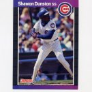 1989 Donruss Baseball #137 Shawon Dunston - Chicago Cubs