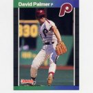 1989 Donruss Baseball #133 David Palmer - Philadelphia Phillies