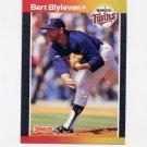 1989 Donruss Baseball #119 Bert Blyleven - Minnesota Twins