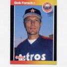 1989 Donruss Baseball #118 Bob Forsch - Houston Astros