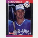 1989 Donruss Baseball #113 Kelly Gruber - Toronto Blue Jays