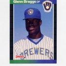 1989 Donruss Baseball #103 Glenn Braggs - Milwaukee Brewers