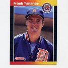 1989 Donruss Baseball #090 Frank Tanana - Detroit Tigers