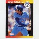 1989 Donruss Baseball #087 Rance Mulliniks - Toronto Blue Jays