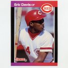 1989 Donruss Baseball #080 Eric Davis - Cincinnati Reds