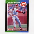 1989 Donruss Baseball #071 Tom Browning - Cincinnati Reds