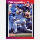 1989 Donruss Baseball #056 Pete Incaviglia - Texas Rangers