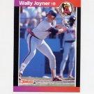 1989 Donruss Baseball #052 Wally Joyner - California Angels