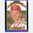 1989 Donruss Baseball #004 Chris Sabo Diamond Kings - Cincinnati Reds