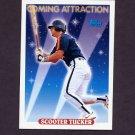 1993 Topps Baseball #814 Scooter Tucker - Houston Astros