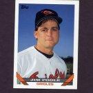 1993 Topps Baseball #793 Jim Poole - Baltimore Orioles