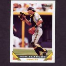 1993 Topps Baseball #778 Don Slaught - Pittsburgh Pirates